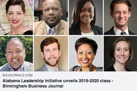 Alabama Leadership Initiative unveils 2019-2020 class