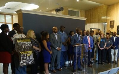 Mayor Woodfin announces city partnership with non-profits to promote conflict resolution